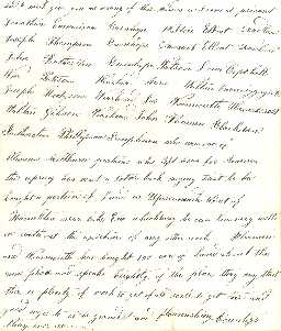 Graham Letter - John Graham 1854