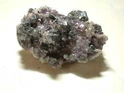 Galena and fluorite, Blackdene Mine