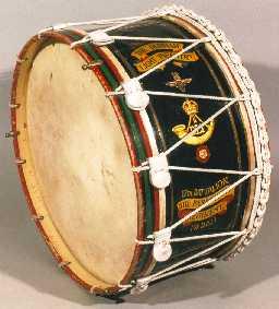 Bass Drum, 17 Para Regiment