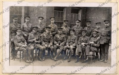 Group photograph of officers of the 7th...