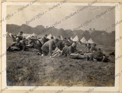 Photograph of officers of the 8th Batta...