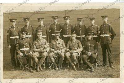 Photograph of Bede Territorials (8th D....