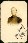 Photograph of a prisoner of war, signed: yours sincerely, Gerry; endorsed:'Bandsman G. Grant, 1st Battalion, The Welsh Regiment, c.1914 - 1918