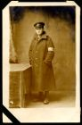 Photograph of an unknown medical orderly from the Durham Light Infantry, a prisoner of war in Munster, Germany, c.1914-1918