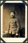 Photograph of a soldier [French], endorsed: Souvenire de capetivite, Sauvebois, Josephe, Francai, Rennbane, 23 Marse 1916