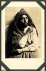 Photograph of a prisoner of war at Rennbahn, Munster, Germany, c.1914-18