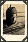 Photograph of a prisoner of war [Indian], at Rennbahn, Munster, Germany, c.1914-18