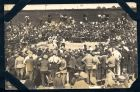 Photograph of a boxing match held at Rennbahn prisoner of war camp, Munster, Germany, c.1914-18