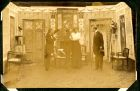 Photograph of a scene from a play taken at Rennbahn prisoner of war camp, Munster, Germany,c.1914-18