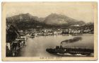 Postcard photograph captioned: Lago di Garda, Riva, Italy, from Private Fred Lucas, Italy, to Master Fred Lucas, Black Horse, Low Fell, Gateshead, 2 August 1918