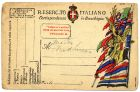 Italian Field Service postcard, from Private Fred Lucas, Italy, to Master Fred Lucas, Black Horse, Low Fell, Gateshead, 12 September 1918