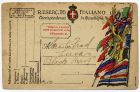 Italian Field Service postcard, from Private Fred Lucas, Italy, to Master Fred Lucas, Black Horse, Low Fell, Gateshead, 15 September 1918