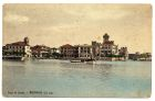 Postcard photograph captioned: Sirmione dal lago, Lago di Garda, Italy, from Private Fred Lucas, Italy, to Master Fred Lucas, Black Horse, Low Fell, Gateshead, 26 September 1918