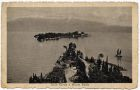 Postcard photograph captioned: Isola Garda e Monte Baldo, Italy, from Private Fred Lucas, Italy, to Master Fred Lucas, Black Horse, Low Fell, Gateshead, 23 October 1918