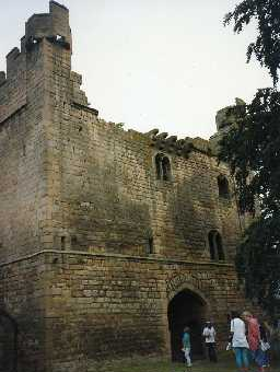 Bywell Castle gatehouse. Photo Northumberland County Council.