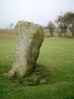 Ingoe standing stone.