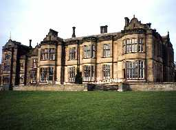 Matfen Hall. Photo by Northumberland County Council.