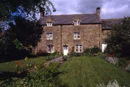 South view of North Fenwick Farmhouse. Photo by Peter Ryder.