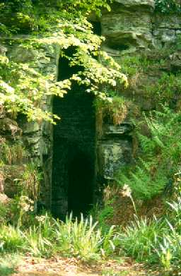 Grotto by the Hart Burn.