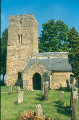 Church of St Andrew in Bolam, Belsay. Photo by Northumberland County Council.