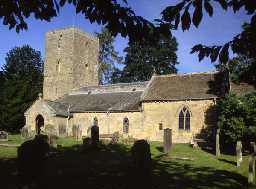 Church of St Andrew in Bolam, Belsay. Photo © Don Brownlow.