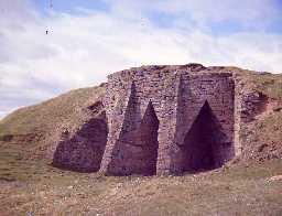 Wardshill lime kiln. Photo by Harry Rowland.