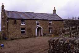 Combhill Farmhouse, Nunnykirk. Photo by Peter Ryder.