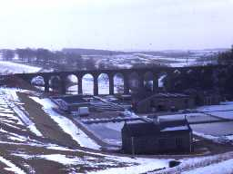 Railway viaduct at Fontburn. Photo by Harry Rowland.
