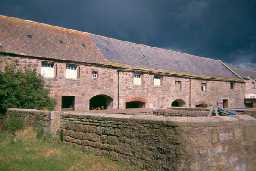 Farm buildings at East Heddon Farm, Heddon-on-the-Wall. Photo by Northumberland County Council.