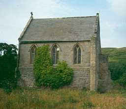 Biddlestone Hall chapel, Biddlestone. Photo by Northumberland County Council.