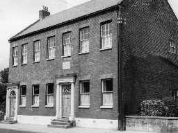 Collingwood House, Morpeth. Photo Northumberland County Council, 1970.