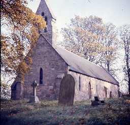 Church of St John the Baptist, Meldon. Photo by Harry Rowland.
