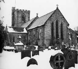 Brinkburn Priory. Photo Northumberland County Council, 1958.