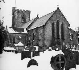 Brinkburn Priory. Photo Northumberland County Council, 1958.