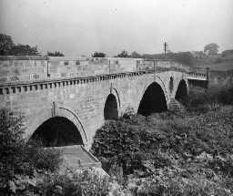 Weldon Bridge. Photo Northumberland County Council, 1956.