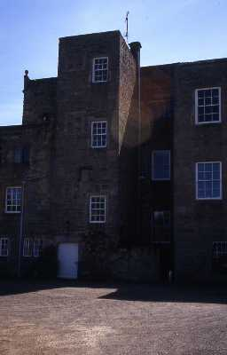 The north side of Netherwitton Hall. Photo by Peter Ryder.