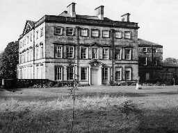 Blagdon Hall, Stannington. Photo Northumberland County Council, 1956.