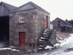 Dovecote at Plessey North Moor Farm.