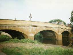Telford Bridge, Morpeth. Photo by Northumberland County Council.
