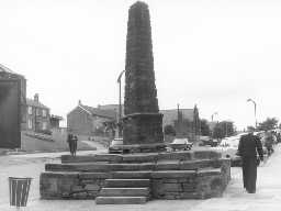 The Cross, Bedlington. Photo by Northumberland County Council, 1970.