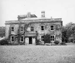 Eshott Hall. Photo Northumberland County Council, 1956.