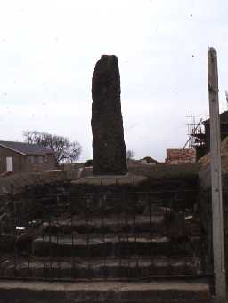 Ulgham village cross.