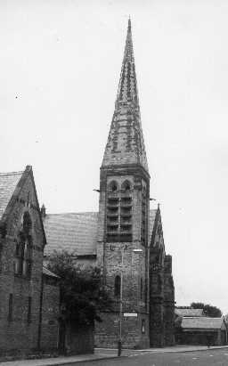 United Reformed Church, Waterloo Road, Blyth. Photo by Northumberland County Council, 1968.