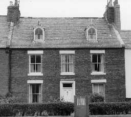 No. 12 Bath Terrace, Blyth. Photo by Northumberland County Council, 1968.