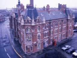 View of Blyth Police Station.