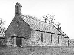 Church of St Mary, Holystone. Photo Northumberland County Council, 1956.