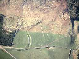 Aerial view of Greaves Ash settlements. Photo © Tim Gates.