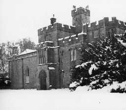The Manor House, Brinkburn. Photo Northumberland County Council, 1958.