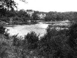 Bywell Hall. Photo Northumberland County Council, c.1956.