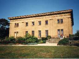 Belsay Hall. Photo by Northumberland County Council.